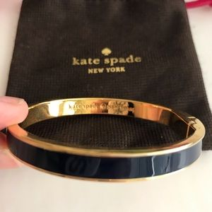Kate Spade enamel bangle bracelet